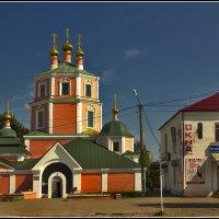 Церковь Иконы Божией Матери Казанская в Гжатске :: Дмитрий Анцыферов