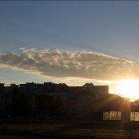 Восход в городе Харькове :: Татьяна Пальчикова