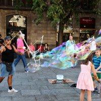 Волшебник мыльных пузырей :: Александр Яковлев