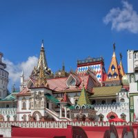 Измайловский кремль. :: Nikolay Ya.......
