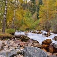 Осень. Горы 3 :: Андрей Гомонов