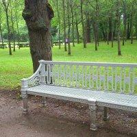 Скамейка в парке :: ЕЛЕНА СОКОЛЬНИКОВА