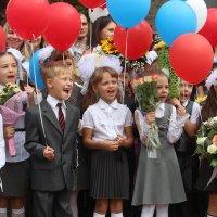 На линейке 1 сентября! :: Надежда Щупленкова