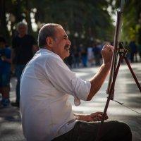 Уличный художник в Аликанте :: serka