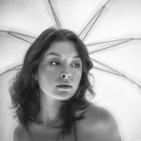 Портрет с зонтиком :: Борис Аарон