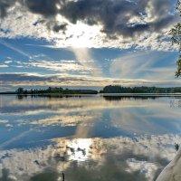 Утро на озере!!!! :: Валентина Папилова