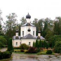 Преображенская церковь в дождь. село Юдино, Перхушково :: elena manas