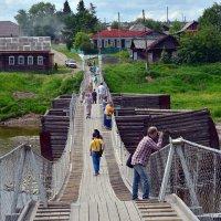 Пешеходный мост. :: Наталья