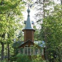 Колокольня Сергиевской церкви, построенная в 1988 году :: Елена Павлова (Смолова)