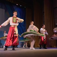 Концерт художественной самодеятельности в станице Калининской. :: Андрей Фиронов