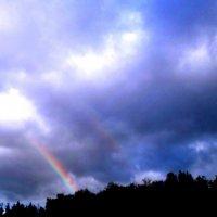 Предзакатная радуга :: Лебедев Виктор