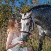 Lidiya and her horse Oktyabrina :: Сергей