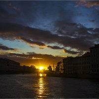 Солнце садится :: Александр