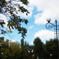 Пейзаж со светильником :: татьяна