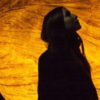 Настя и луна :: Елена Яшнева