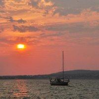 вечернее море :: Августа
