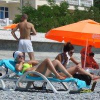 На пляже :: Михаил Битёв