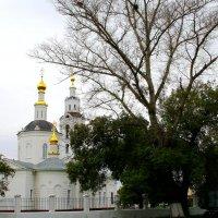 Пейзаж с Богоявленской церковью. :: Борис Митрохин