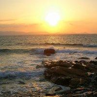 Закат на острове  Наксос. :: Оля Богданович