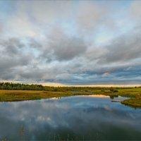 Небо в озере купалось... :: Александр Никитинский