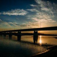 Закат с мостом :: Роман Жданов
