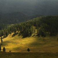 И луч дневной, горит в горах на рёбрах туч 2 :: Сергей Жуков