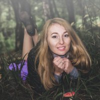 Съемка в лесу :: Anna Enikeeva