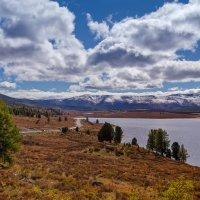 Дорога вдоль улаганских озер :: Оксана Арискина