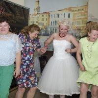 сразу видно, кто больше всего ждал свадьбу :: Ольга Русакова