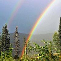 Радуга в горах :: Сергей Чиняев