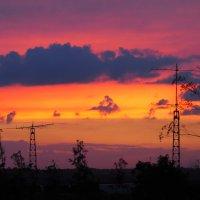 Закат радует красками :: Игорь Касьяненко
