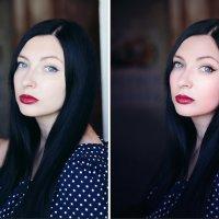 просто портрет (до и после) :: Veronika G
