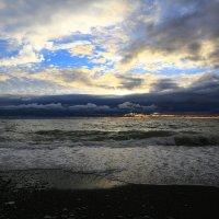 Осенний закат :: valeriy khlopunov