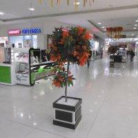 Осенний интерьер в Супермаркете :: татьяна