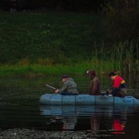 Трое в лодке :: Андрей Лукьянов