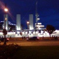 """Крейсер """"Аврора"""" вечером. (Санкт-Петербург). :: Светлана Калмыкова"""