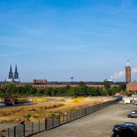 Кёльнский собор, вид от входа в выставочный комплекс! :: Witalij Loewin