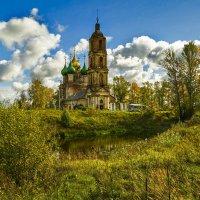 Русские храмы в старинных селах Ярославщины. :: Алла ************