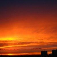 закат над Москвой 1 :: Natali Kosheleva
