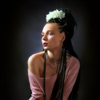 Девушка с дредами...2 :: Андрей Войцехов