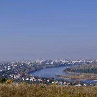 Город на берегу Енисея :: galina tihonova