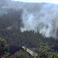 Пожар в горах :: Вера Щукина