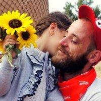 Трогательные папа с дочкой :: Алена