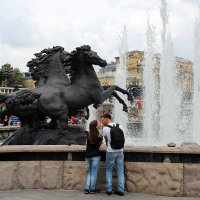 ... конь... засмотрелся ... :: Дмитрий Иншин