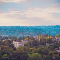 Виды с террикона город Енакиево :: Игорь