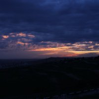 Закат над городом :: Иван Балмасов