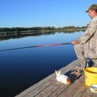 Ловись рыбка большая и маленькая. :: Виктор ЖИГУЛИН.