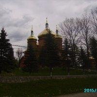 Греко - католический  храм  в   Ворохте :: Андрей  Васильевич Коляскин