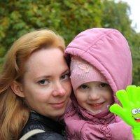 мама и дочка :: Анна Шишалова