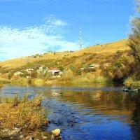 Рыбалка осенью на реке. :: Валентина ツ ღ✿ღ